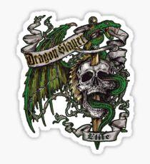 Dragon Slayer Elite Crest Sticker