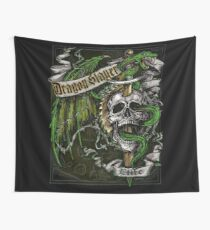 Dragon Slayer Elite Crest Wall Tapestry