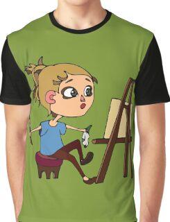 Artist at work Graphic T-Shirt