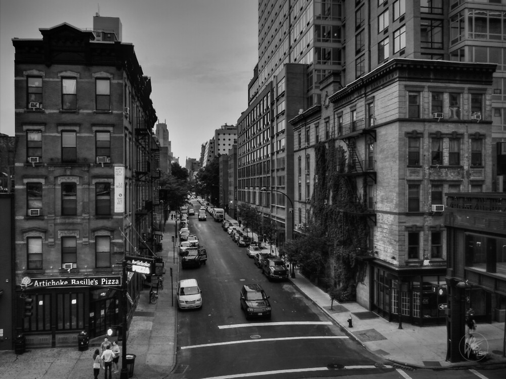 Manhattan - Chelsea 002 BW by Lance Vaughn