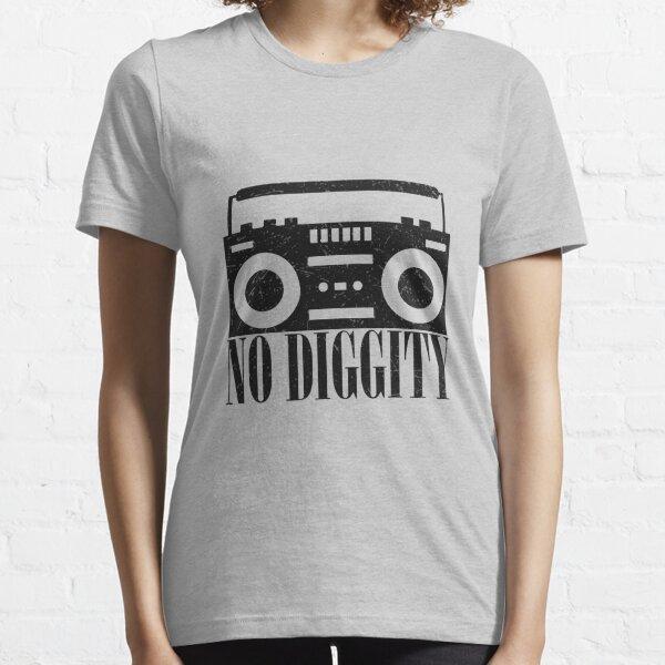 No Diggity T Shirt Old School Hip Hop Essential T-Shirt
