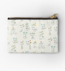 Molecules of Life Zipper Pouch