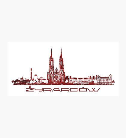 Zyrardow skyline city Photographic Print