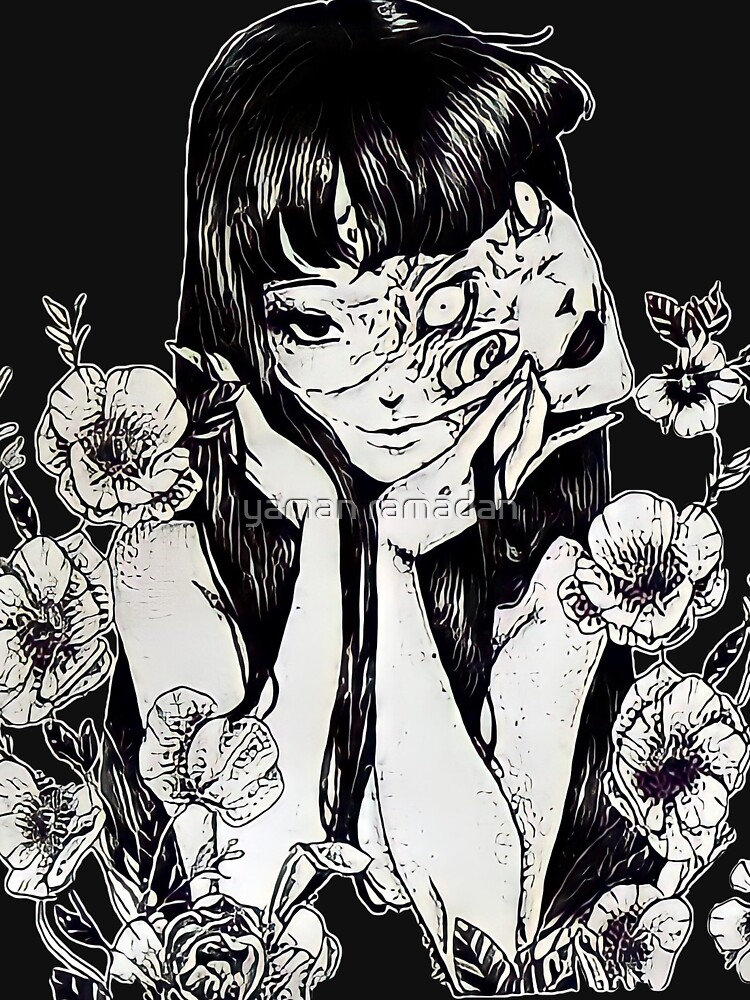 Tomie Junji Ito Unique Art by mr-aa