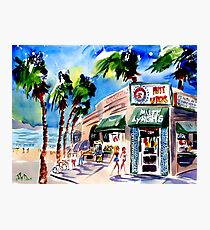 Mutt Lynch's, Newport Beach Photographic Print
