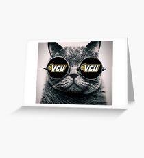 VCU Cat  Greeting Card