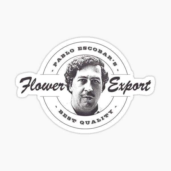 Pablo Escobar logo Sticker