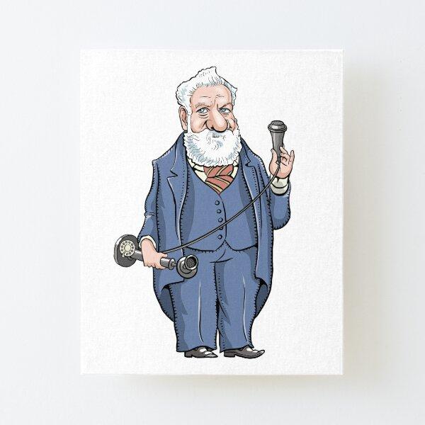 Alexander Graham Bell Canvas Mounted Print