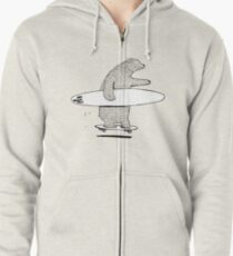 Going Surfing Zipped Hoodie