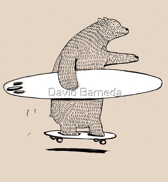 Going Surfing by David Barneda