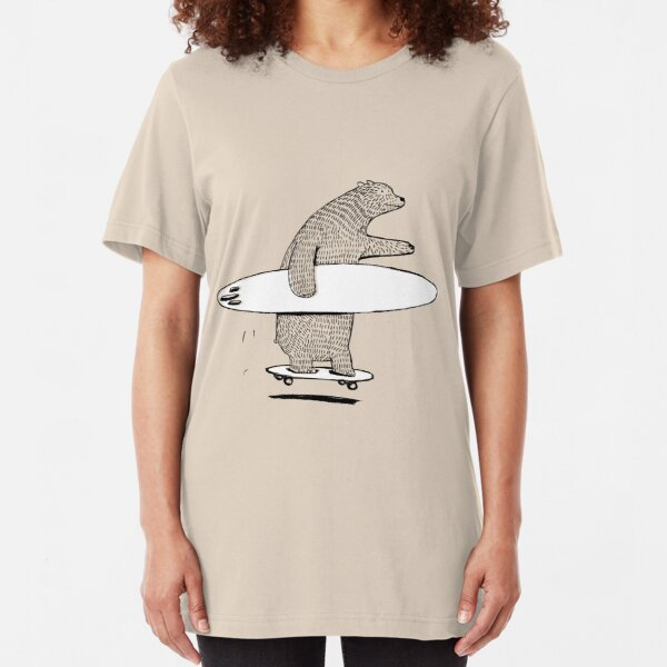 Going Surfing Slim Fit T-Shirt