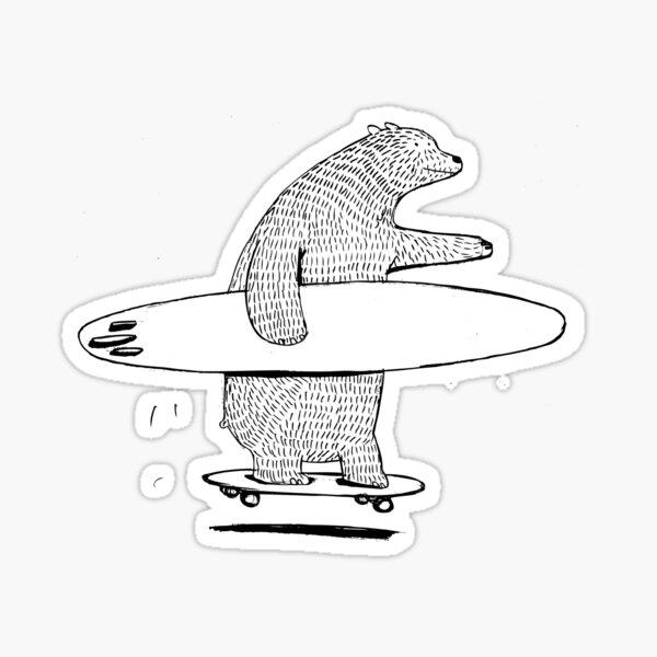 Going Surfing Sticker