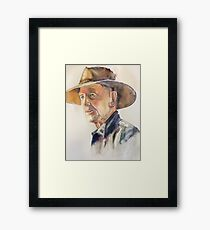 From the Outback Framed Print