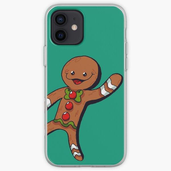 Gingerbread Man - SantaPlayland iPhone Soft Case