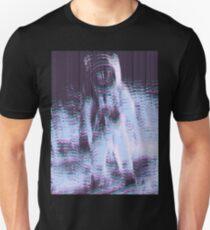01101000 01100101 01101100 01110000 Unisex T-Shirt
