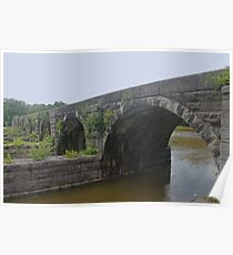 Aqueduct - Finger Lakes Poster