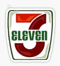 311 - 3 Eleven Sticker