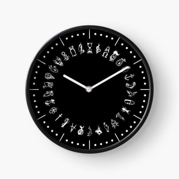 Symbols of Alethiometer Clock