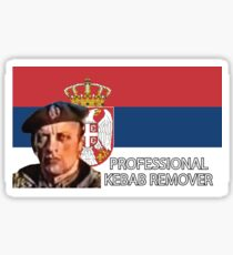 Professional Kebab Remover Sticker