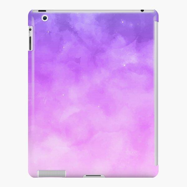 Lilac gradient watercolor iPad Snap Case