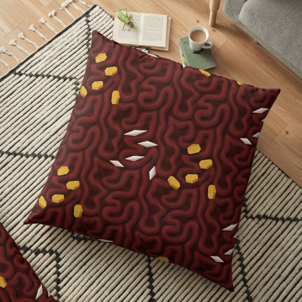 Nether ores - PureBDcraft Floor Pillow