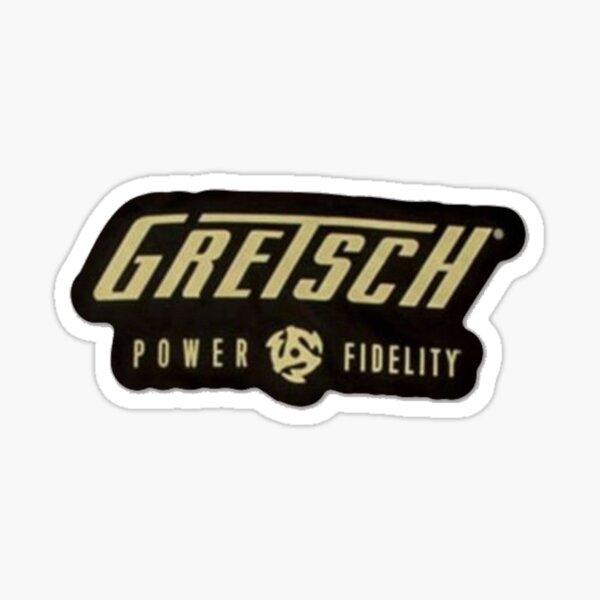 Gretsch Power & Fidelity Sticker