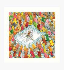 Dance Gavin Dance Art Print