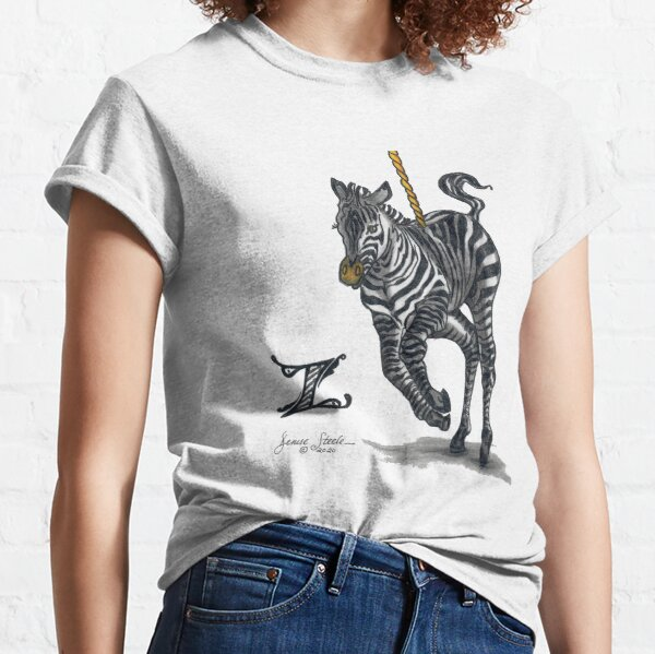 Z is for Zebra! Classic T-Shirt