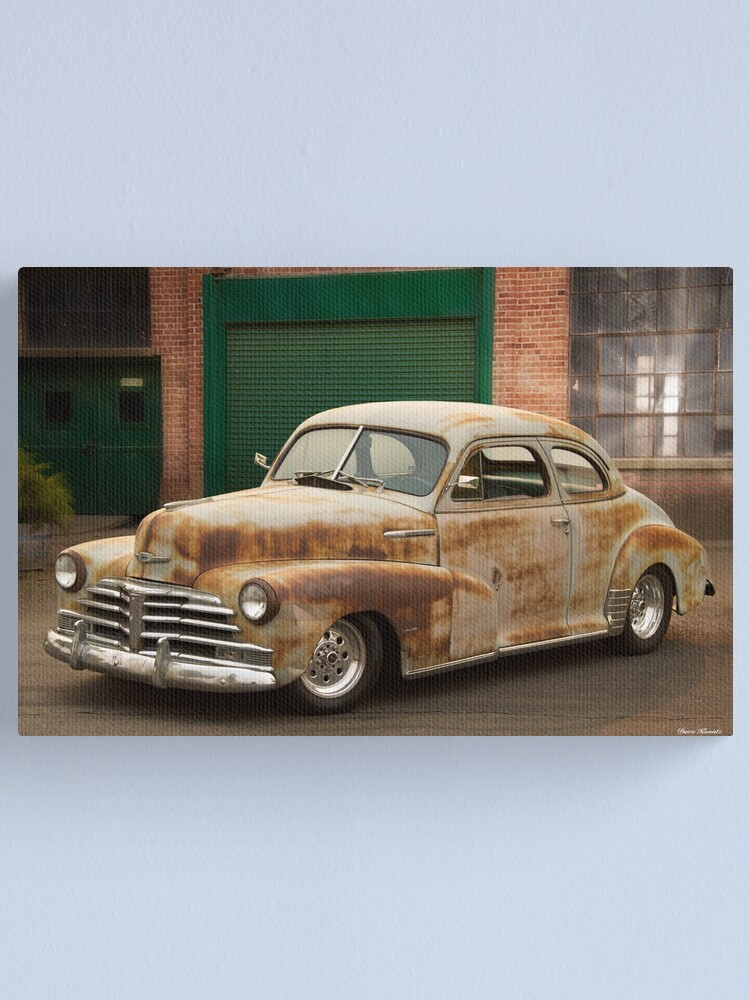 Alternate view of 1947 Chevrolet Stylemaster Coupe Canvas Print