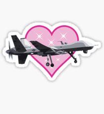 Sparkle Reaper Drone Sticker