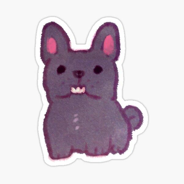 Lucius French Bulldog Sticker