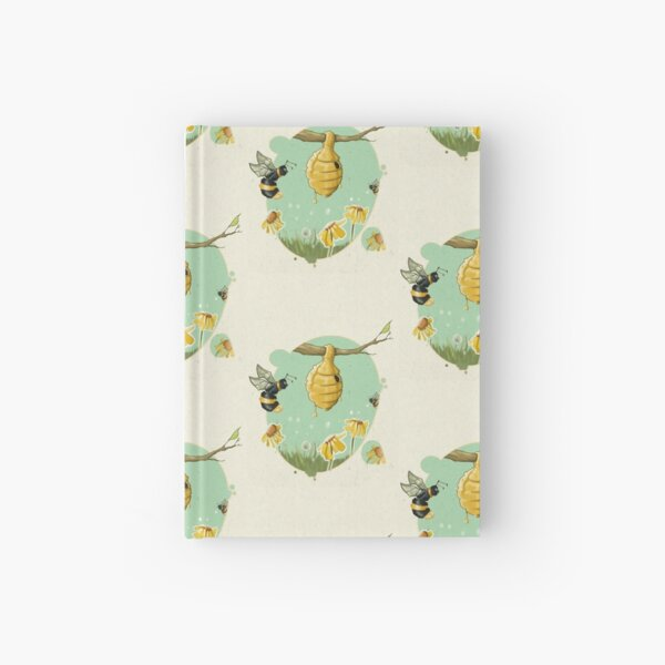 Oh, bee hive! Hardcover Journal