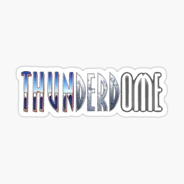 Thunderdome 3 Grafik Pegatina