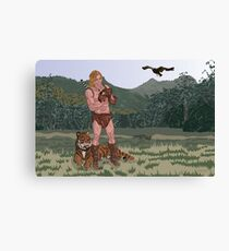 Ruler of Beasts Canvas Print