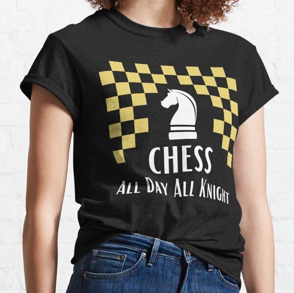 Chess world-Funny puns Classic T-Shirt