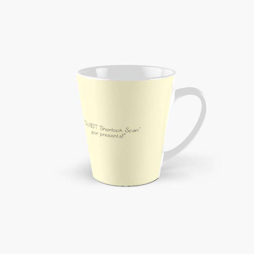 Sherlock's Santa Scan Tall Mug