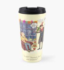Sherlock's Santa Scan Travel Mug