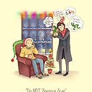 Sherlock's Santa Scan by AliciaMB