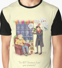 Sherlock's Santa Scan Graphic T-Shirt