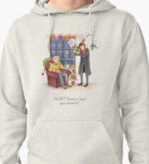 Sherlock's Santa Scan Pullover Hoodie