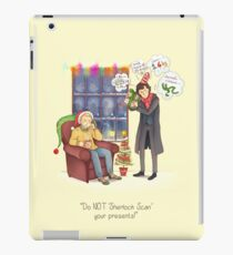 Sherlock's Santa Scan iPad Case/Skin