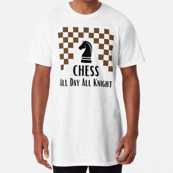 Chess world-Funny puns Long T-Shirt