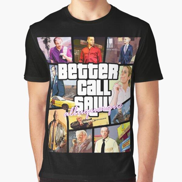 Better Call Saul albuquerque GTA ART Graphic T-Shirt