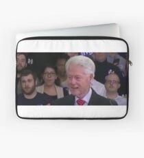 Bill Clinton high as a kite Laptop Sleeve