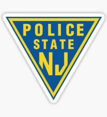 POLICE STATE (NJ) Sticker