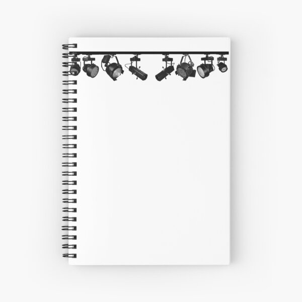 Theatrical Lighting Spiral Notebook