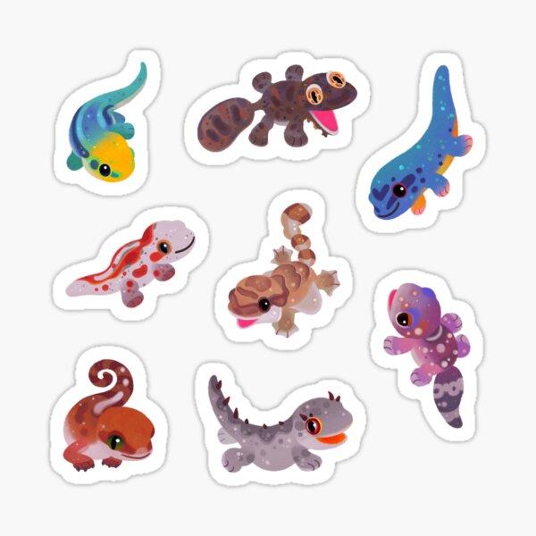 Gecko - bright Sticker