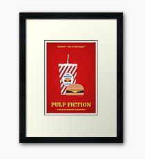 Pulp Fiction film poster Framed Print