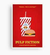 Pulp Fiction Film Poster Leinwanddruck