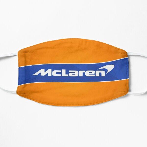 F1 McLaren Orange Mascarilla plana